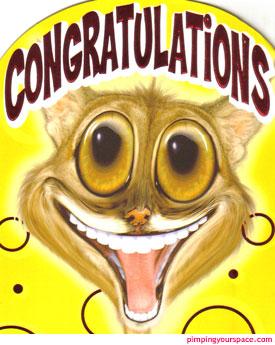 Congratulations-d